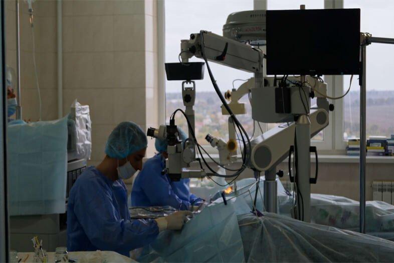 Катаракта и глаукома лечим одновременно в Запорожье