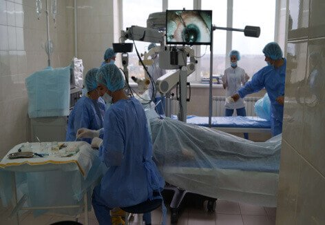 Операция на глазах Запорожье