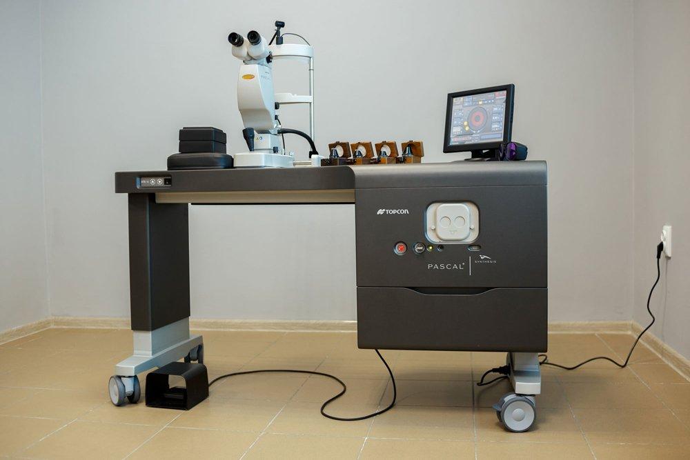 Лазерная микрохирургия глаза в Запорожье Украина