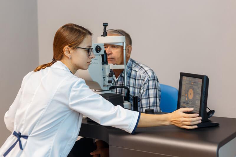 Центральная серозная хориоретинопатия глаза лечение